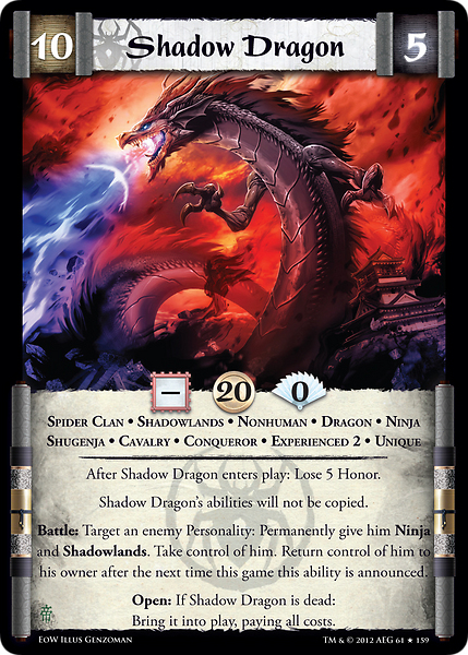 Afbeeldingsresultaat voor l5r shadow dragon